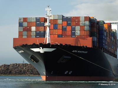 APL RAFFLES Departing Southampton PDM 20-06-2014 19-12-50