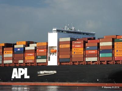APL RAFFLES Departing Southampton PDM 20-06-2014 19-16-38