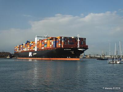 APL RAFFLES Departing Southampton PDM 20-06-2014 19-14-56