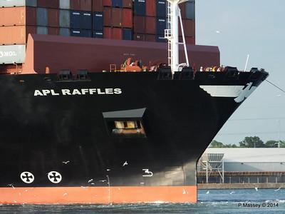 APL RAFFLES Departing Southampton PDM 20-06-2014 19-16-08