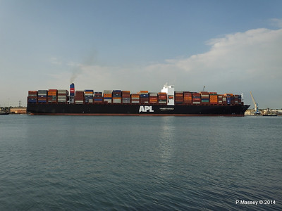 APL RAFFLES Departing Southampton PDM 20-06-2014 19-20-52
