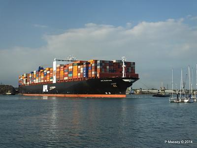 APL RAFFLES Departing Southampton PDM 20-06-2014 19-14-59