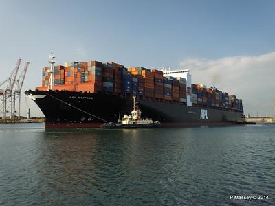 APL RAFFLES Departing Southampton PDM 20-06-2014 19-11-34