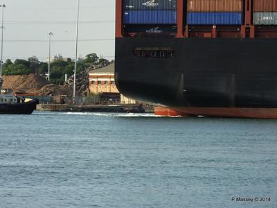 APL RAFFLES Departing Southampton PDM 20-06-2014 19-19-55
