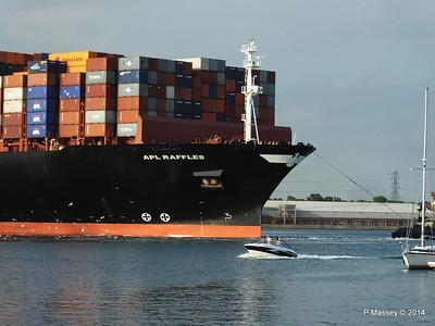 APL RAFFLES Departing Southampton PDM 20-06-2014 19-15-49