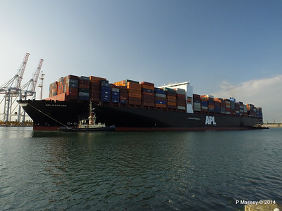 APL RAFFLES Departing Southampton PDM 20-06-2014 19-10-42