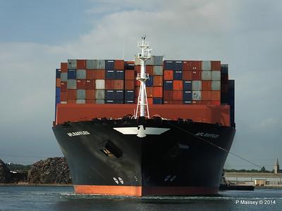 APL RAFFLES Departing Southampton PDM 20-06-2014 19-13-28