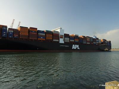 APL RAFFLES Departing Southampton PDM 20-06-2014 19-09-54
