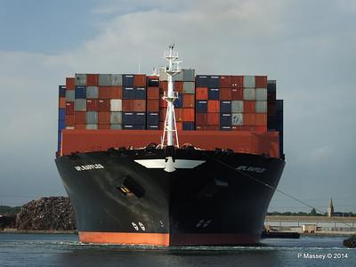 APL RAFFLES Departing Southampton PDM 20-06-2014 19-13-30