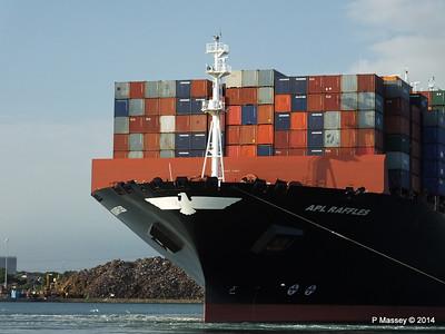 APL RAFFLES Departing Southampton PDM 20-06-2014 19-12-39