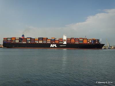 APL RAFFLES Departing Southampton PDM 20-06-2014 19-19-32