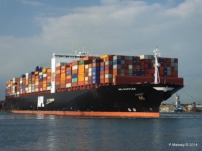 APL RAFFLES Departing Southampton PDM 20-06-2014 19-14-47