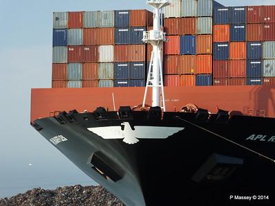 APL RAFFLES Departing Southampton PDM 20-06-2014 19-12-43