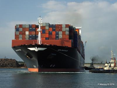 APL RAFFLES Departing Southampton PDM 20-06-2014 19-13-04