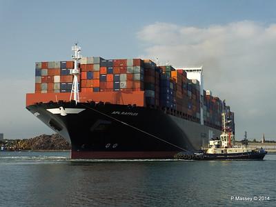APL RAFFLES Departing Southampton PDM 20-06-2014 19-12-36