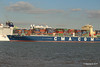 CMA CGM AMAZON Passing NORWEGIAN EPIC Southampton PDM 26-09-2015 16-44-22