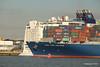 CMA CGM AMAZON Passing NORWEGIAN EPIC Southampton PDM 26-09-2015 16-44-37