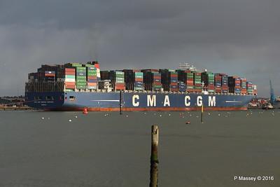 CMA CGM AMERIGO VESPUCCI Outbound Southampton PDM 02-02-2016 13-26-056