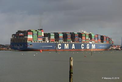 CMA CGM AMERIGO VESPUCCI Outbound Southampton PDM 02-02-2016 13-26-50
