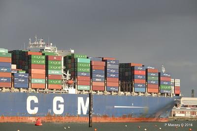 CMA CGM AMERIGO VESPUCCI Outbound Southampton PDM 02-02-2016 13-25-43