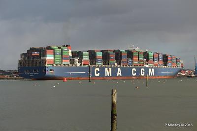 CMA CGM AMERIGO VESPUCCI Outbound Southampton PDM 02-02-2016 13-26-053