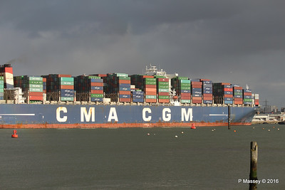 CMA CGM AMERIGO VESPUCCI Outbound Southampton PDM 02-02-2016 13-25-20