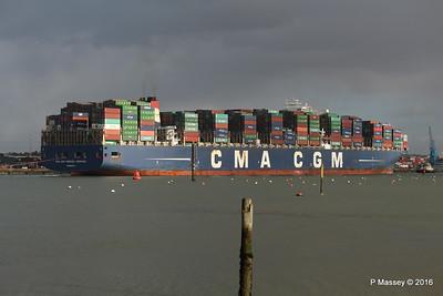 CMA CGM AMERIGO VESPUCCI Outbound Southampton PDM 02-02-2016 13-26-055