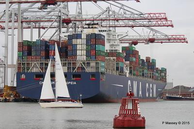 CMA CGM CASSIOPEIA sy QUINTESSENCE Southampton PDM 25-04-2015 16-33-52