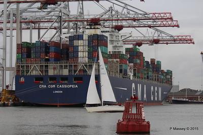 CMA CGM CASSIOPEIA sy QUINTESSENCE Southampton PDM 25-04-2015 16-33-049