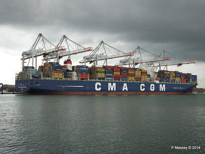2014 CMA CGM CHRISTOPHE COLOMB Various Other Dates