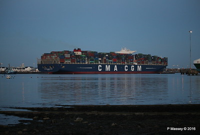 CMA CGM JULES VERNE Outbound Southampton PDM 30-08-2016 20-06-12
