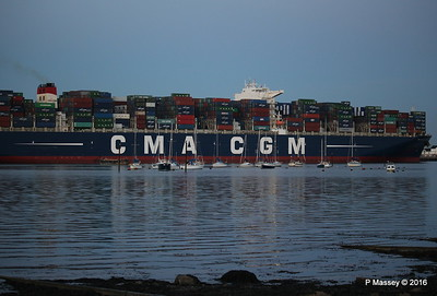 CMA CGM JULES VERNE Outbound Southampton PDM 30-08-2016 20-03-56