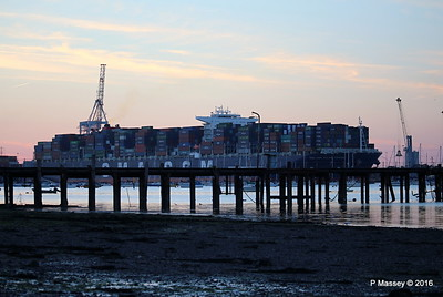 CMA CGM JULES VERNE Outbound Marchwood Jetty Southampton PDM 30-08-2016 19-52-02