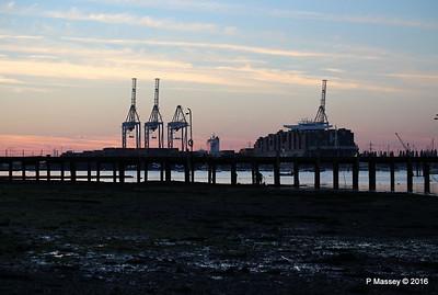 CMA CGM JULES VERNE MSC ALGHERO Sunset Southampton PDM 30-08-2016 19-48-12