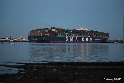 CMA CGM JULES VERNE Outbound Southampton PDM 30-08-2016 20-06-10
