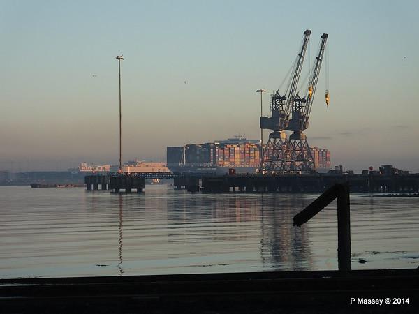 CMA CGM JULES VERNE Inbound Southampton PDM 30-12-2014 15-46-43