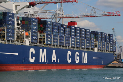 CMA CGM KERGUELEN Southampton PDM 13-05-2015 11-54-44