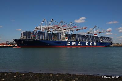 CMA CGM KERGUELEN Southampton PDM 13-05-2015 12-06-05