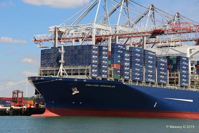 CMA CGM KERGUELEN Southampton PDM 13-05-2015 11-55-40