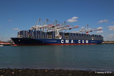 CMA CGM KERGUELEN Southampton PDM 13-05-2015 12-06-22