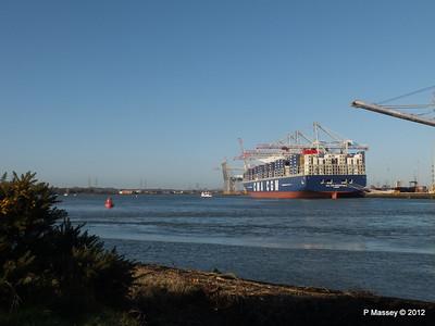 CMA CGM MARCO POLO Southampton PDM 10-12-2012 13-04-13