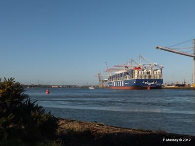 CMA CGM MARCO POLO Southampton PDM 10-12-2012 13-04-11