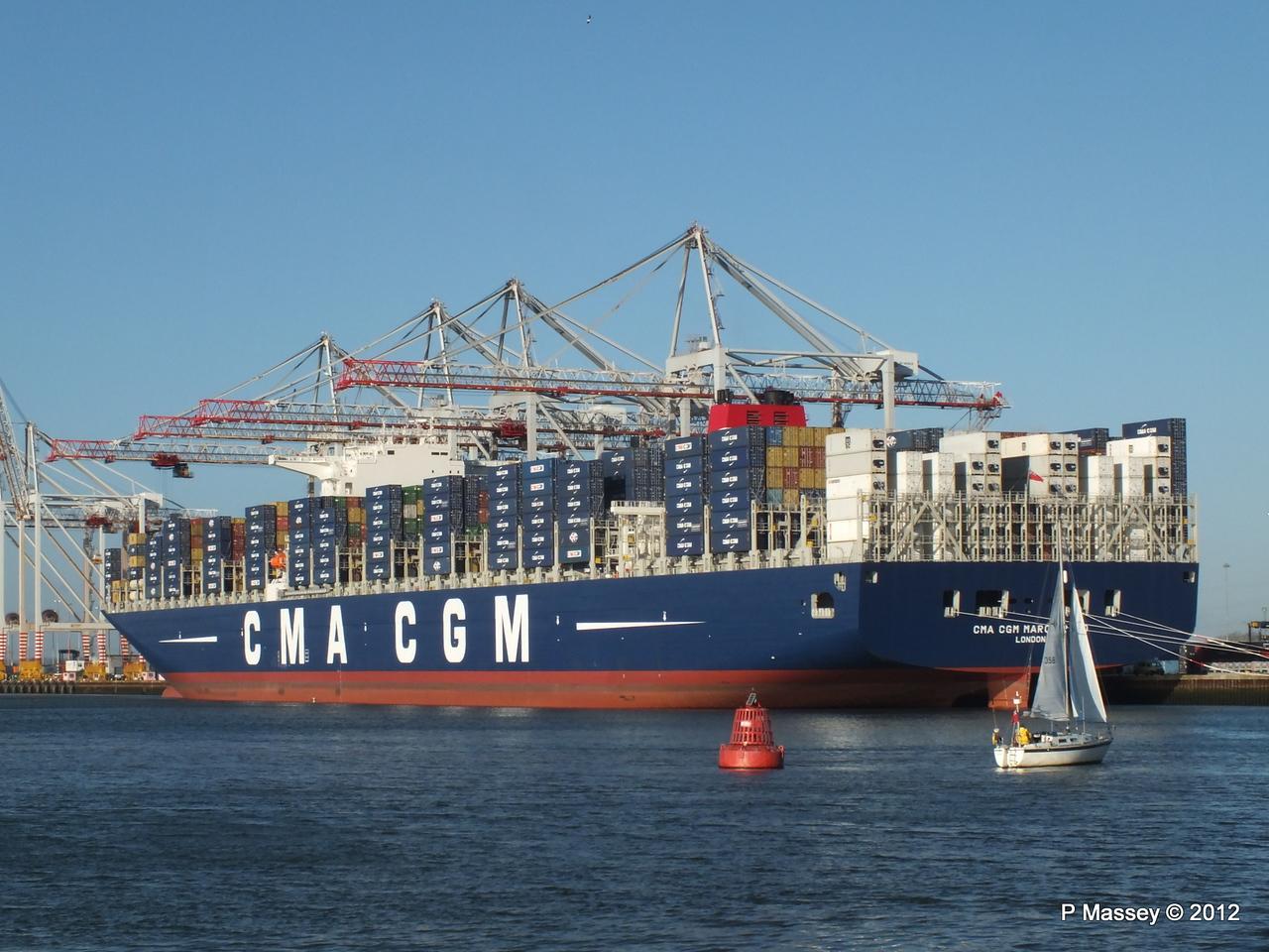 CMA CGM MARCO POLO Southampton PDM 10-12-2012 13-09-06