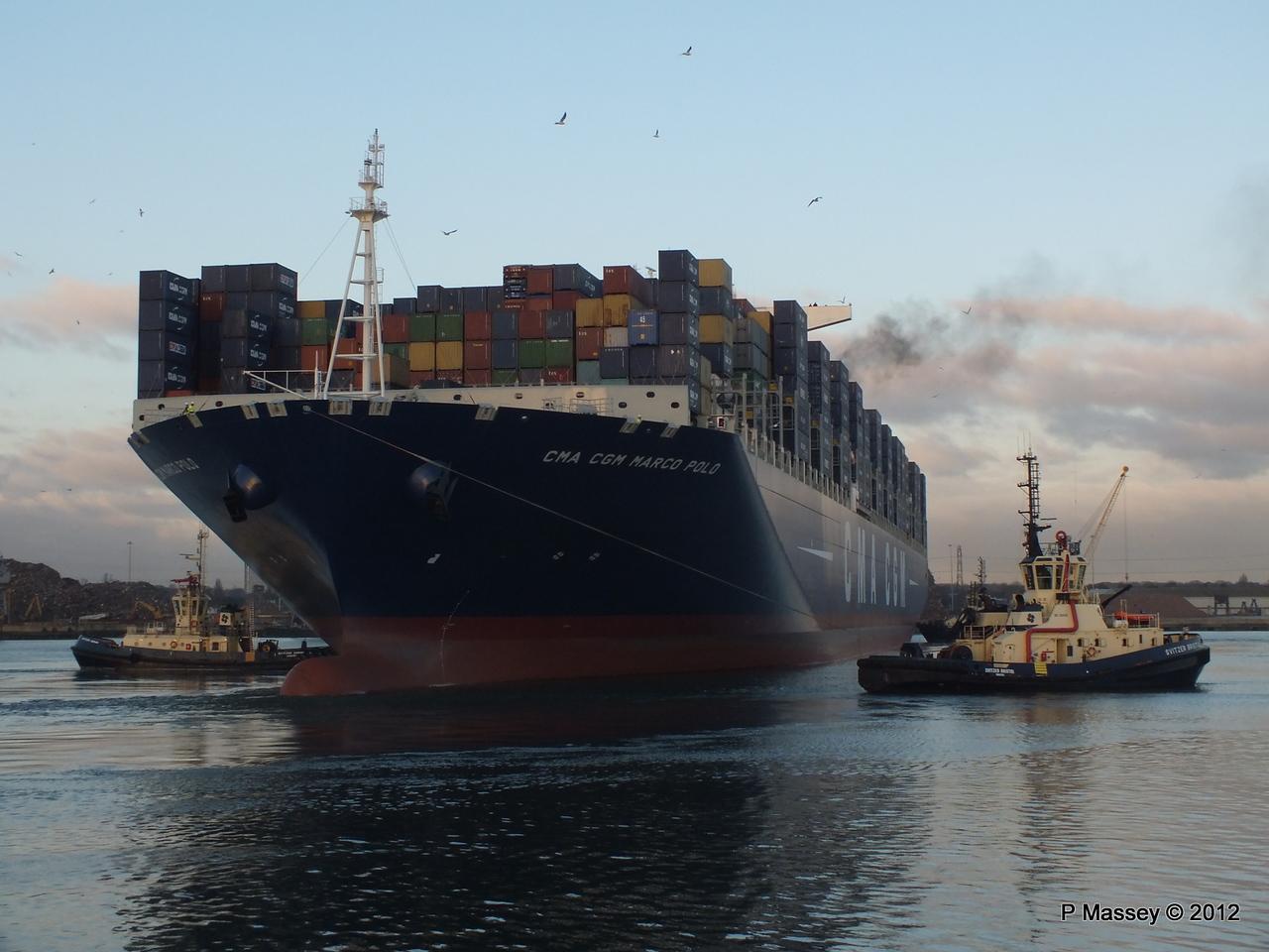 CMA CGM MARCO POLO Southampton PDM 10-12-2012 16-21-41