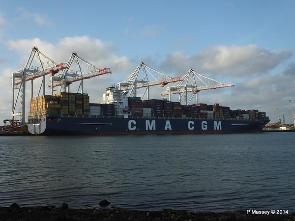 CMA CGM PEGASUS Southampton PDM 19-10-2014 19-12-30