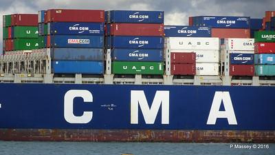 CMA CGM SAMSON Inbound Southampton PDM 09-04-2016 15-11-02