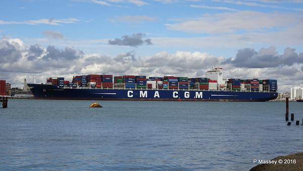 9 Apr 2016 CMA CGM SAMSON Inbound Southampton
