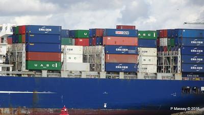 CMA CGM SAMSON Inbound Southampton PDM 09-04-2016 15-11-12