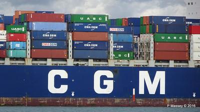CMA CGM SAMSON Inbound Southampton PDM 09-04-2016 15-11-05