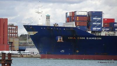 CMA CGM SAMSON Inbound Southampton PDM 09-04-2016 15-10-50
